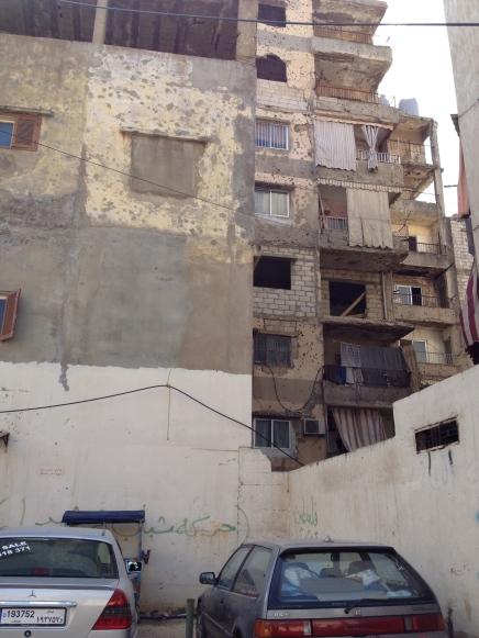 Burj El Barajneh - Graffiti wall project
