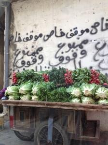 Burj El Barajneh - Beirut - Graffitti